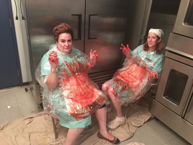 Lunch Ladies bloody